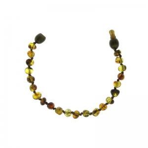 Baltic way bracelet ambre gray bille clip