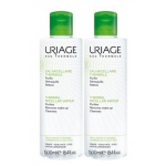 Uriage Eau Micellaire Thermale Peaux Mixtes à Grasses Lot de 2 x 500 ml