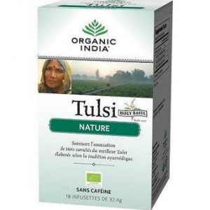 Organic India  Tulsi Tea nature 18 sachets de Thé Bio