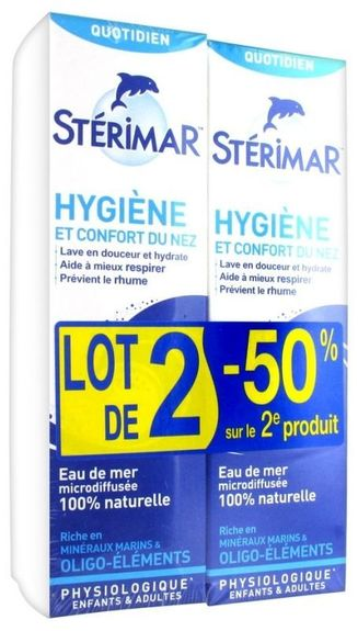 Sterimar solution nasale isotonique 100ml
