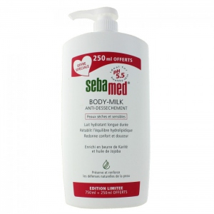 Sebamed Body-Milk anti-dessèchement 1 Litre