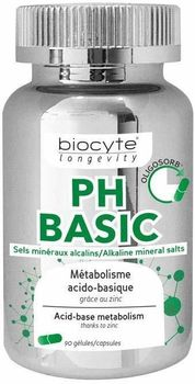 Biocyte longevity PH Basic 90 gélules