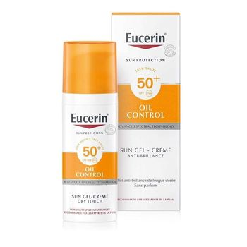 Eucerin Sun Protection Oil Control Sun Gel-Crème SPF 50+- 50ml