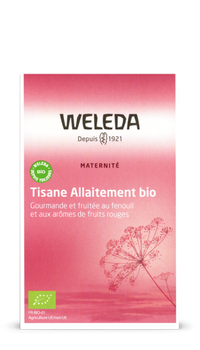 Weleda Tisane d'Allaitement Fruits Rouges bio 20 Sachets