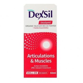 Dexsil Gel articulations et muscles Instant roll on 50ml