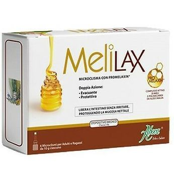 Aboca Melilax 6 Microlavements pour Adultes et Adolescents