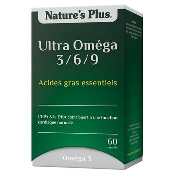 Nature's Plus - Ultra Omega 3/6/9 60 capsules