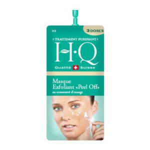 "HQ Masque Exfoliant ""Peel Off"" au Concentré d'Orange 3 Doses"