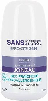 Jonzac Déodorant hypoallergenique 24h Roll on bio 50ml