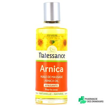 Natessance Huile d'arnica massage musculaire 100ml