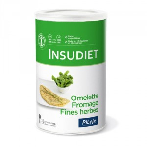 Insudiet Omelette Fromage Fines Herbes pot 300 g