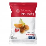 Insudiet Mini cake Multifruits 6 portions de cakes
