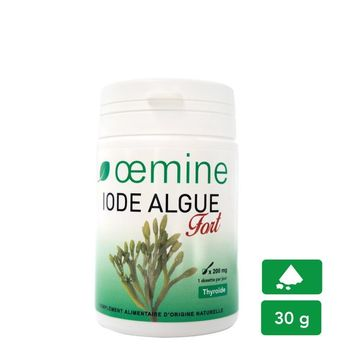 Oemine iode algue fort pot 30g