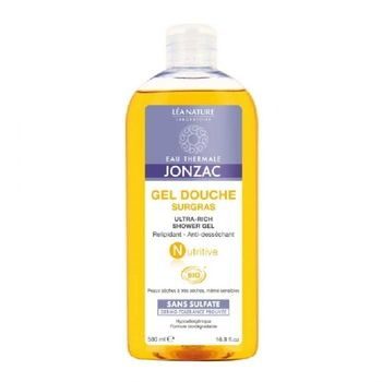 Jonzac Nutritive Gel douche Bio surgras 500 ml