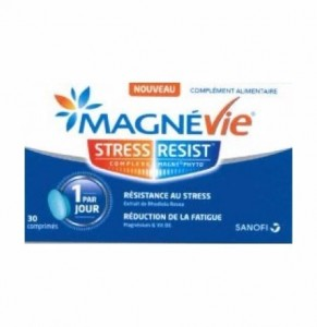 MagneVie Stress Resist 30 Comprimés Sanofi