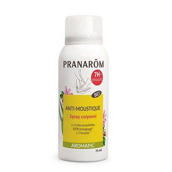 Pranarom Aromapic  Spray corps anti-moustique bio, 75ml