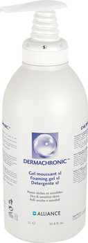 Dermachronic Gel moussant xl. fl-pompe 1 litre Sinclair