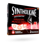 SyntholKiné patch auto-chauffant - Bas du dos par 2
