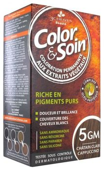 3 Chênes Color & Soin Coloration 5GM chatain clair 135ml
