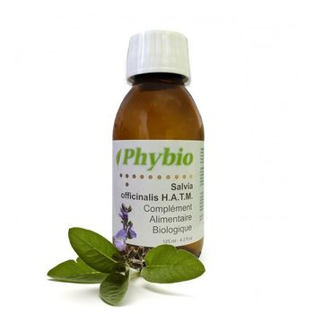 Phybio SALVIA OFFICINALIS Sauge BIO  H.A.T.M. 125ml