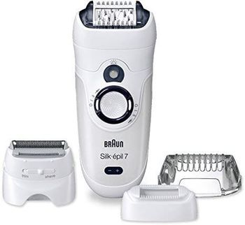 Braun Epilateur électrique Silk-épil 7 skinspa wet and dry