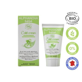 Alphanova Bébé Cold Cream Bio 50 ml