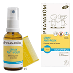 Pranarôm Aromapoux Spray Anti-Poux Bio 30 ml + peigne