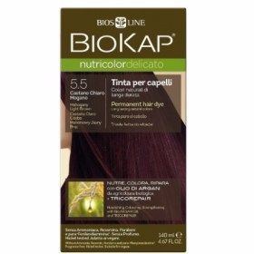 Biokap Coloration Delicato 5.5 chatain clair acajou 140ml