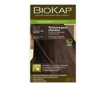 Biokap Coloration Delicato 5.0 chatain clair naturel 140ml