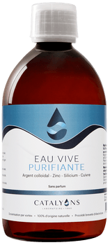 Catalyons Eau Vive purifiante 500ml