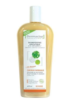 Dermaclay Bio Shampoing cheveux normaux 400ml
