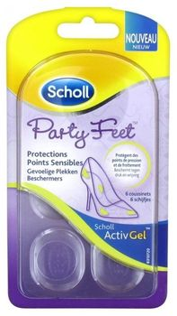 Scholl ActivGel Party Feet protections points sensibles 6 coussinets