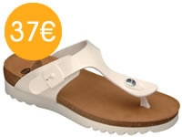 SCHOLL BOA VISTA UP Blanc