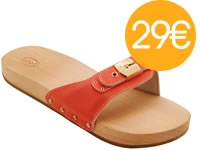 SCHOLL PESCURA FLAT SPORTY Rouge