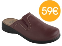 SCHOLL TOFFEE Bordeaux