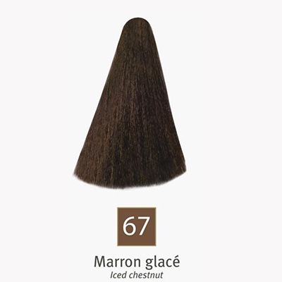 efficolor coloration cr me 67 marron glac parapharmacie. Black Bedroom Furniture Sets. Home Design Ideas