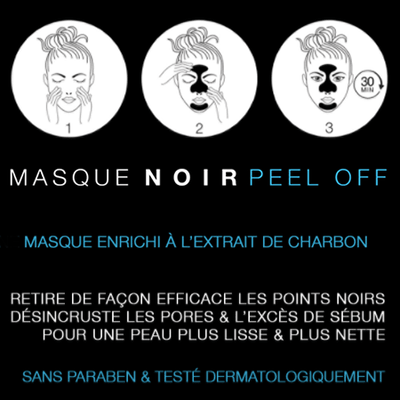 BT COSMETICS Masque Noir Peel-off au Charbon 50ml