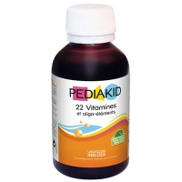PEDIAKID 22 VITAMINES OLIGOELEMENTS 125 ml