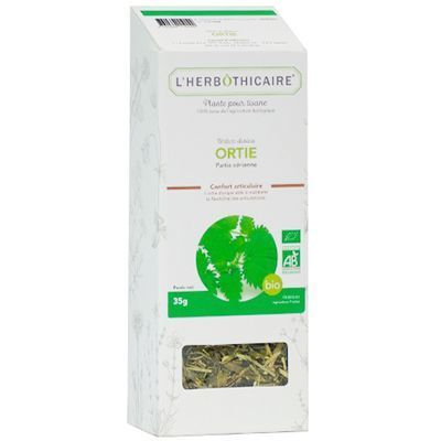 L'HERBOTHICAIRE Plante pour Tisane Ortie Bio 35g