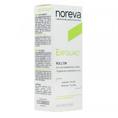 NOREVA Exfoliac Roll-on Soin Anti-Imperfections 5ml