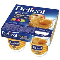 DELICAL Nutra Pote Abricot 4x200g