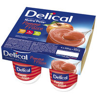 DELICAL Nutra Pote Fraise 4x200g
