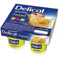 DELICAL Nutra Pote Pomme 4x200g