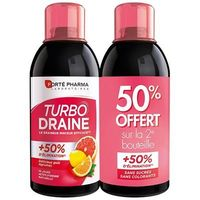 FORTE PHARMA Turbodraine Agrumes Lot de 2 x 500ml