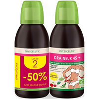 PHYTOCEUTIC Draineur 45+ Lot de 2 x 500ml