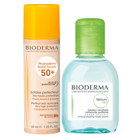 BIODERMA Photoderm Nude Touch SPF50+ Naturel 40ml + Eau Micellaire 50ml OFFERTE