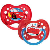 DODIE Sucette Anatomique Silicone +18mois x2 Cars