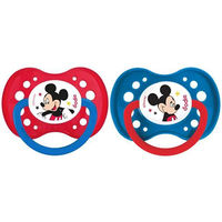 DODIE Sucette Anatomique Silicone +18mois x2 Mickey