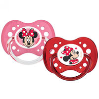 DODIE Sucette Anatomique Silicone +18mois x2 Minnie