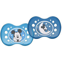 DODIE Sucette Nuit Anatomique Silicone +18mois x2 Mickey